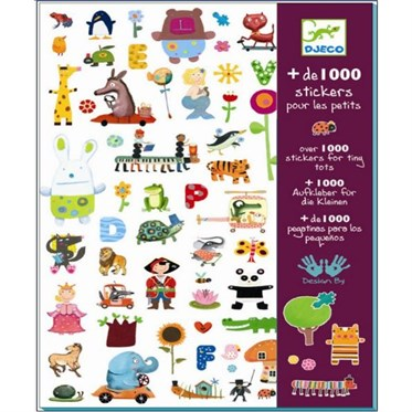 Djeco Çıkartmalar/1000 stickers for little ones