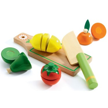 Djeco Kesme Tahtası / Fruits & Vegetables To Cut