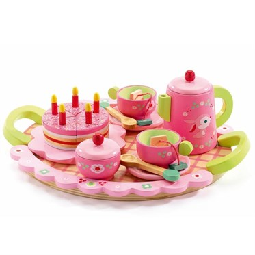 Djeco Ahşap Parti Seti / Lili Roses Tea Party