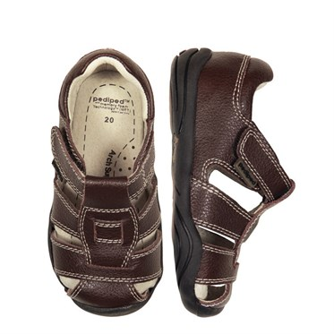 Pediped Sydney Chocolate Brown