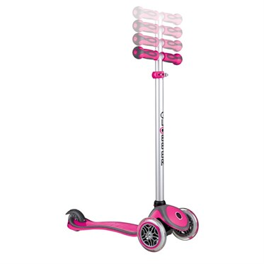 Globber Scooter/Evo Go Up Comfort/Pembe